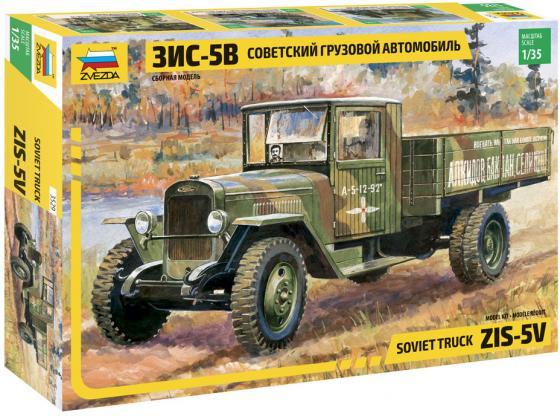 Грузовик Звезда ЗиС-5В 3529 1:35 хаки  3529 грузовик зис 5в 3529