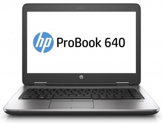 Ноутбук HP ProBook 640 G3 14 1920x1080 Intel Core i7-7600U 1 Tb 4Gb Intel HD Graphics 620 черный Windows 10 Professional Z2W39EA