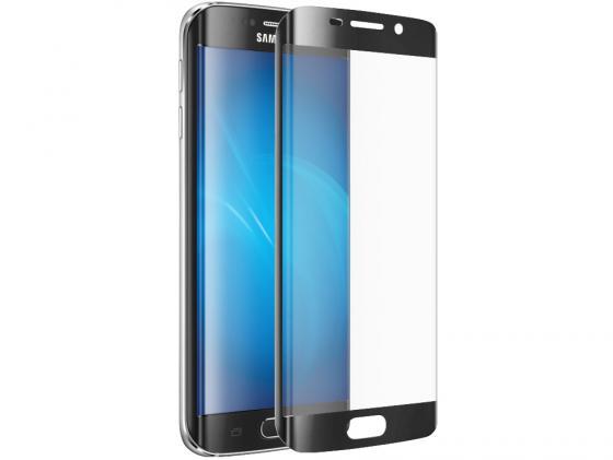 купить Защитное стекло DF sColor-06 для Samsung Galaxy S7 Edge 3D с рамкой черный металлик онлайн