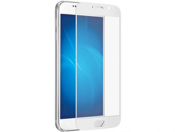 все цены на  Защитное стекло DF sColor-05 для Samsung Galaxy S7 3D с рамкой белый  онлайн