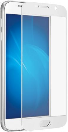 купить Защитное стекло DF sColor-08 для Samsung Galaxy S7 с рамкой белый онлайн