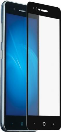 Защитное стекло DF zColor-03 для ZTE Blade A510 с рамкой черный смартфон zte blade a510 grey