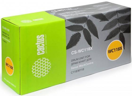 Тонер-картридж Cactus CS-WC118XR 006R01179/013R00589 для Xerox WC C118/M118 черный 60000стр картридж cactus cs wc118 для xerox c118 m118 черный 11000стр