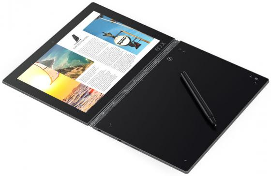 Планшет Lenovo Yoga Book YB1-X90L 10.1 64Gb серый Wi-Fi Bluetooth 3G 4G Android ZA0W0051RU планшет lenovo yoga book yb1 x91l 10 1 64gb черный wi fi 3g bluetooth 4g windows za160002ru