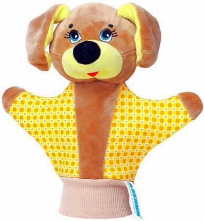 Кукла на руку МЯКИШИ Собачка 35 см 123 rk 123 кукла богатырь 1105557