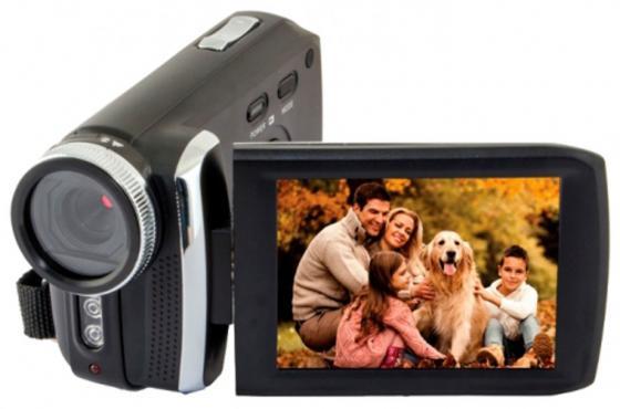 Цифровая видеокамера Rekam DVC-540 черный цена