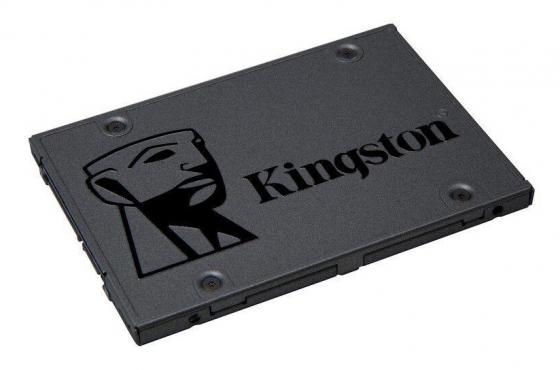 Твердотельный накопитель SSD 2.5 480 Gb Kingston A400 SA400S37/480G Read 500Mb/s Write 450Mb/s TLC ssd накопитель kingston sa400s37 480g