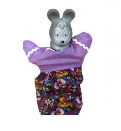 Кукла на руку Русский Стиль Мышка 27 см 11014 бинки мочалка на руку д детей перчатка 25х21см