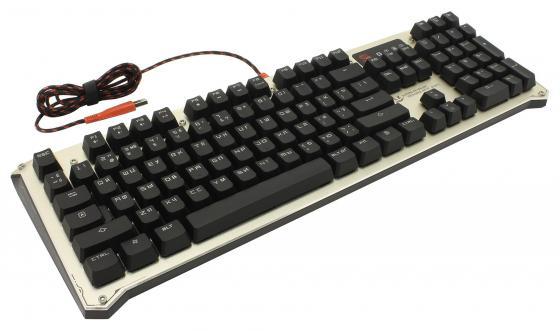 купить Клавиатура проводная A4TECH Bloody B840 USB USB черный онлайн