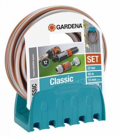 Кронштейн Gardena 18005-20.000.00 кронштейн настенный со шлангом gardena classic 18005 20