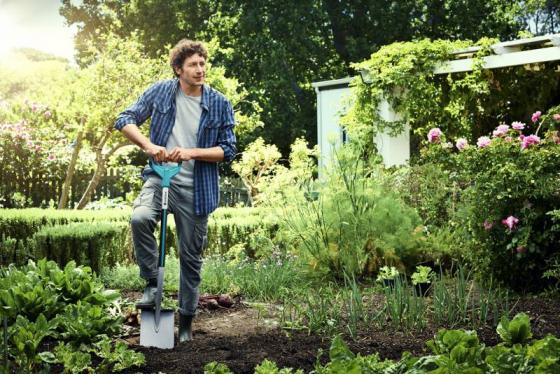 Лопата Gardena Terraline штыковая 03771-24.000.00 лопата садовая gardena terraline 03771 24 000 00
