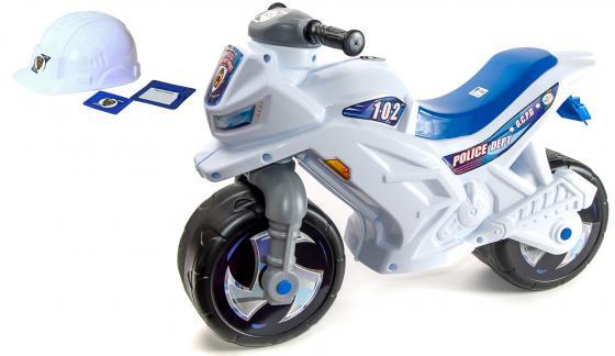 Каталка-мотоцикл Orion со шлемом, значком и протоколом пластик от 1.5 лет со шлемом белый 501в2 каталка мотоцикл coloma moto mx пластик от 2 лет 46765 со шлемом