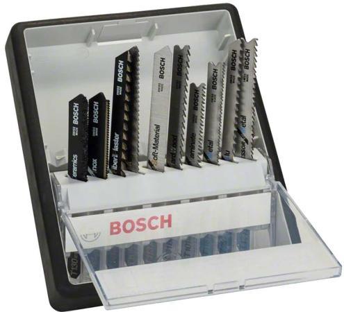 Лобзиковая пилка Bosch ROBUST LINE 10 шт 2607010574