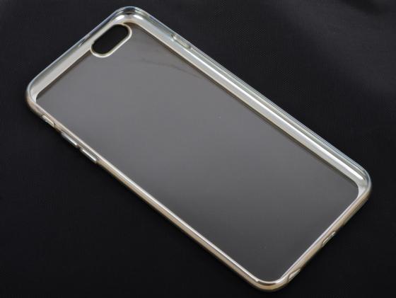 купить Накладка DF iCase-03 для iPhone 6S Plus iPhone 6 Plus серебристый недорого