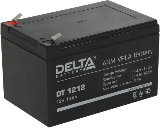 Батарея Delta DT 1212 12Ач 12В new original dvp48eh00r3 delta plc eh3 series 100 240vac 24di 16do relay output