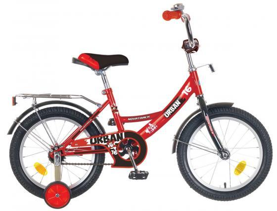 """Велосипед двухколёсный Novatrack """"Urban"""" 16"""" красный"""
