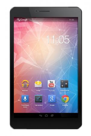 Планшет Tesla Impulse 8.0 8 8Gb черный Wi-Fi Bluetooth 3G Android Impulse 8.0 black 5.1 планшет digma plane 1601 3g ps1060mg black