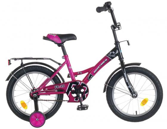 """Велосипед двухколёсный Novatrack FR-10 16"""" фиолетовый"""