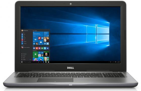 "Ноутбук DELL Inspiron 5567 15.6"" 1366x768 Intel Core i3-6006U 1 Tb 4Gb Radeon R7 M440 2048 Мб черный Linux 5567-7881"