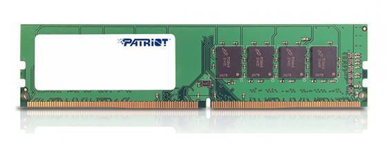 Оперативная память 8Gb PC4-19200 2400MHz DDR4 DIMM Patriot PSD48G240082H цена и фото