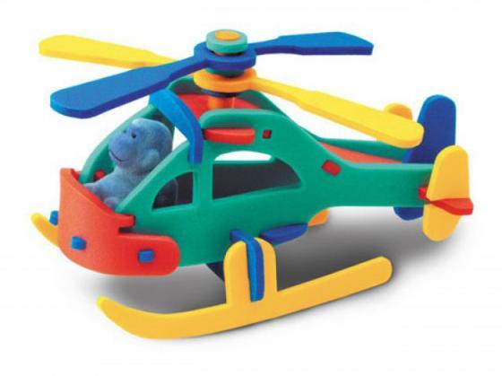 Мягкий конструктор Флексика Вертолет пассажирский в ассортименте 45484
