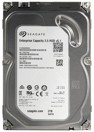 Жесткий диск 3.5 2 Tb 7200rpm 128Mb cache Seagate Enterprise Capacity SATA III 6 Gb/s ST2000NM0008 кеды dali кеды на танкетке платформе