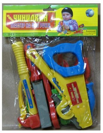 Набор инструментов Shantou Gepai Чинилкин 18 предметов игрушечные инструменты shantou gepai набор инструментов маленький мастер