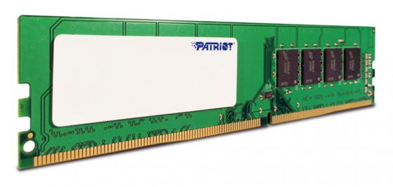 Оперативная память 4Gb PC4-19200 2400MHz DDR4 DIMM Patriot PSD44G240082 модуль памяти patriot memory ddr4 so dimm 2400mhz pc4 19200 cl17 4gb psd44g240041s