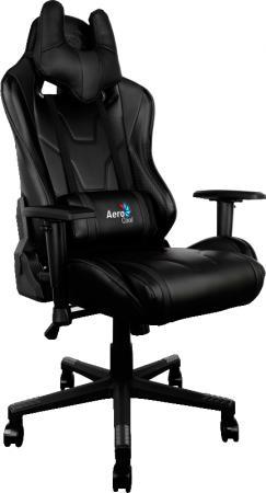 Кресло компьютерное игровое Aerocool AC220-B черный 4710700959688 цена и фото