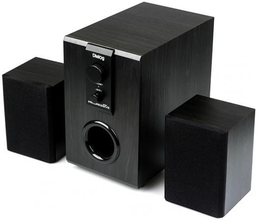 Колонки Dialog Progressive AP-100 2x3 + 6 Вт черный