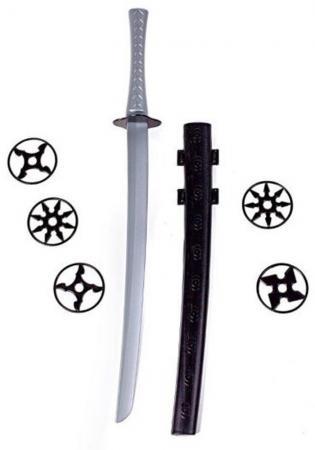 Оружие Свсд Оружие ниндзя - Крадущийся воин 2 черный серый 5261 ремень tucano 5261