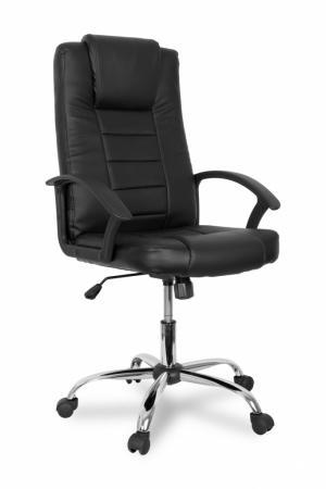 Кресло руководителя College BX-3375 экокожа черный цена и фото