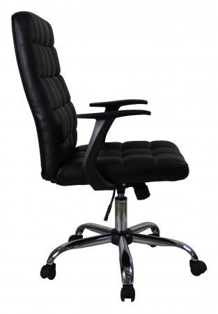 Кресло руководителя College BX-3619 экокожа черный