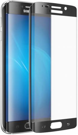все цены на Защитное стекло DF sColor-02 с цветной рамкой для Samsung Galaxy S6 Edge+ черный онлайн