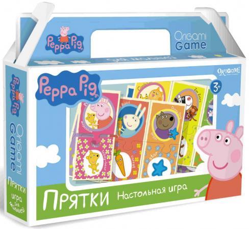 Напольная игра развивающая ОРИГАМИ Peppa Pig Прятки origami peppa pig настольная игра прятки