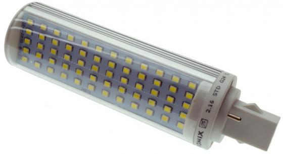 Лампа светодиодная G24 12W 6500K кукуруза прозрачная PL-12W-G24-60SMD-CL/CW 9281 автохолодильник cw unicool 28 unicool 28