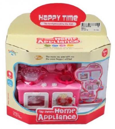 Плита Shantou Gepai Happy Time со звуком и светом 6609-1 плита shantou gepai с набором аксессуаров со звуком и светом 3533a