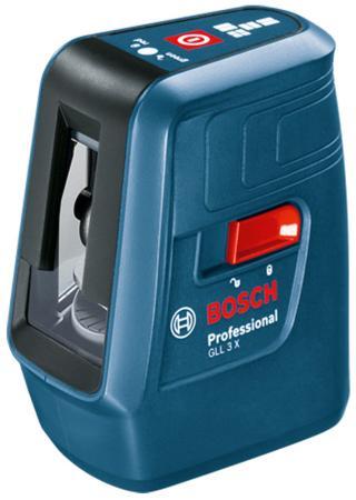Нивелир Bosch GLL 3 X уровень bosch gll 3 80c вкладка l boxx 0 601 063 r00