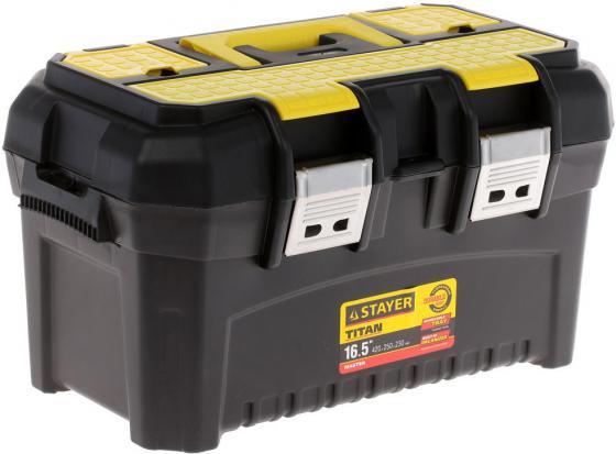 Ящик для инструмента Stayer Master 16 пластиковый 38016-16 органайзер stayer multy shel 420х335х115мм 16 5 38033 16