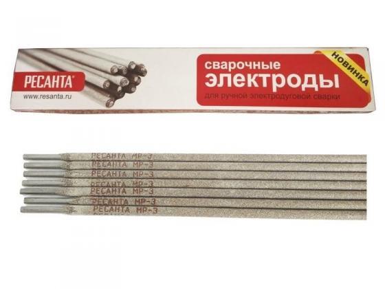 Электроды для сварки Ресанта МР-3 Ф5,0 3 мм 3 кг 71/6/18