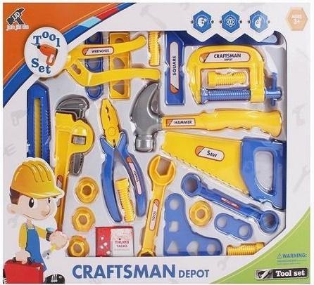Набор инструментов Shantou Gepai Craftsmen Depot 23 предмета  6101-1 набор инструментов помогаю папе 23 предмета