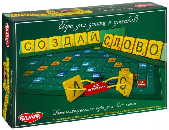 Настольная игра семейная Dream makers Создай слово 1304Н настольная игра dream makers вокруг света 1202h