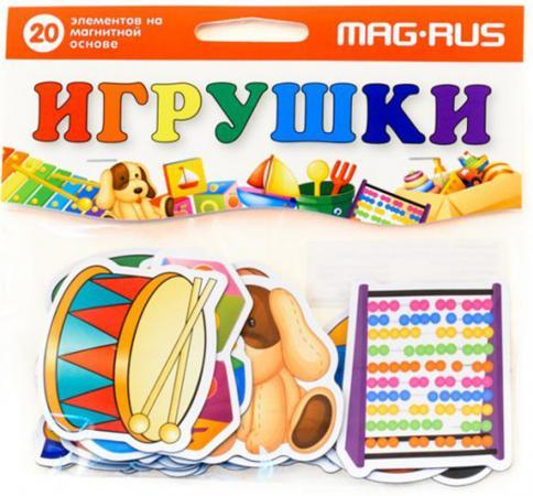 Магнитная игра развивающая MAG-RUS Игрушки NF1012 mag rus мозаика магнитная деревенский дворик