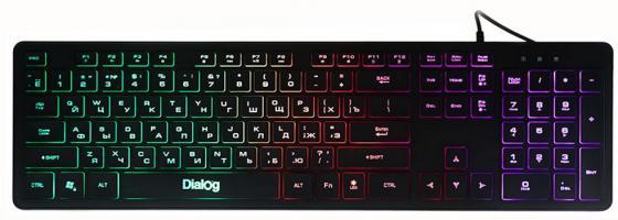Клавиатура проводная Dialog Katana KK-L02U USB черный комбо для гитары boss katana mini