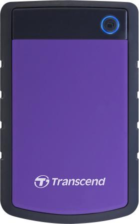 Внешний жесткий диск 2.5 USB3.0 4 Tb Transcend StoreJet 25H3P TS4TSJ25H3P фиолетовый