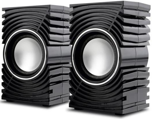 Колонки Perfeo Mirage PF-2023 2x3 Вт USB черный цена и фото