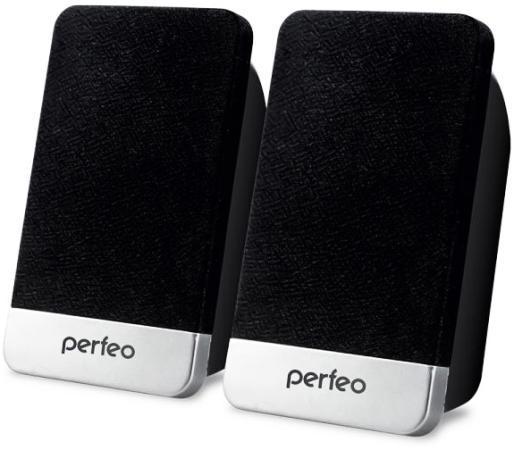Колонки Perfeo Monitor PF-2079 2x3 Вт USB черный цена и фото