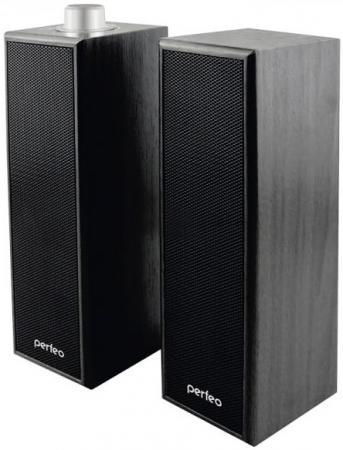 Колонки Perfeo Pharos PF-2080 2x3 Вт USB черный