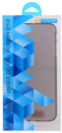 Накладка IQ Format Slim для iPhone 7 Plus чёрный iq format чехол крышка iq format slim для apple iphone 7 plus 8 plus пластик голубой