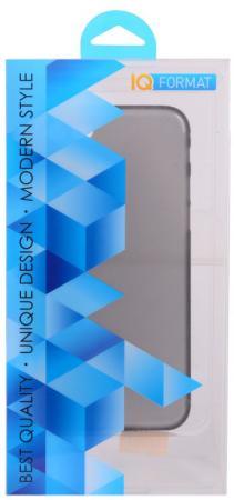 Накладка IQ Format Slim для iPhone 7 чёрный iq format чехол крышка iq format slim для apple iphone 7 plus 8 plus пластик голубой